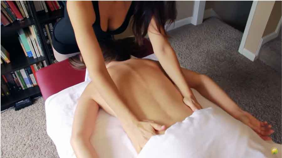 female sensual massage