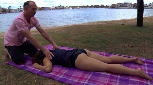 Get a blissful massage at the Gold Coast