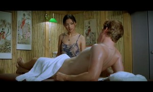 Getting an erection during massage, has it happened to you?