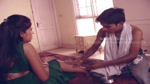 Hot Indian girl gets her slave to massage her