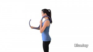 How a massage cane can be used to massage your back