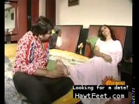 Indian housewives enjoy getting their husbands to massage their feet