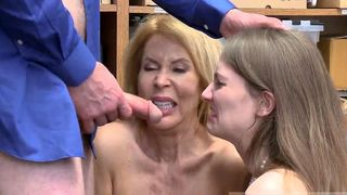 mother and daughter massage sex