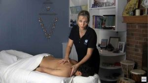 North Carolina Massage Therapist Shows Techniques to Give Good Swedish Massage For Shoulders