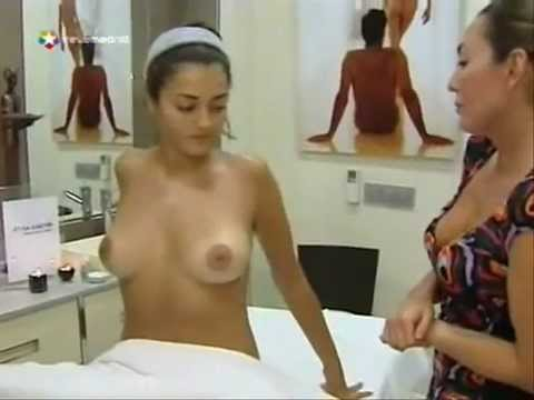 Oily breast massage, for perfect boobs