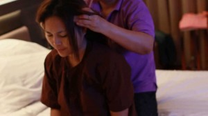 Thai Massage arms and back