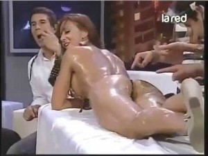 Sexy hot oil massage