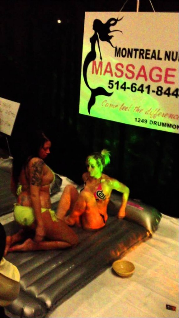 The Canadian girls sure know how to give a great nuru massage