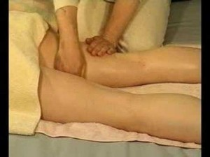 The most viewed massage video on youtube is about massaging a womans inner thighs!